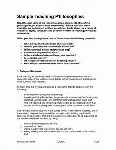 Design Philosophy Statement Teaching Philosophy Statements Google Search Teaching