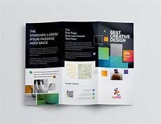 3 Fold Brochure Templates Best Creative Corporate Tri Fold Brochure Template 001211