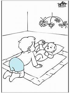 baby und bruder malvorlagen geburt