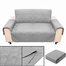 light gray 2 seater pet sofa protector cover