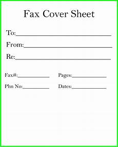 Fax Cover Sheet Blank Fax Cover Sheet Template Sample