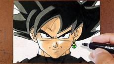 como desenhar goku black colorindo