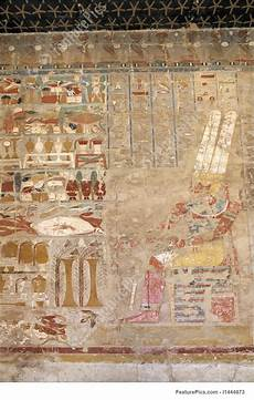 ancient fresco of pharaoh stock picture i1444873 at