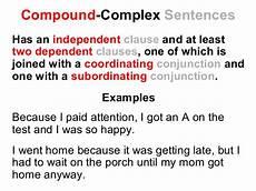 Simple Compound Complex Sentences Simple Compound And Complex Sentences Lesson Reading