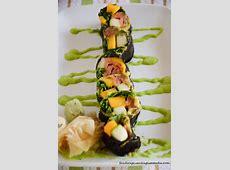 Smoked Salmon Sushi Roll with Avocado
