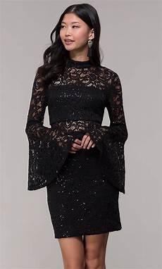 black sleeve dress wars sleeve lace black dress promgirl