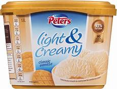 Peters Light And Creamy Vanilla Slices Classic Vanilla Slices Peters Ice Cream