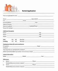 Free Rental Template 21 Printable Rental Application Templates Free