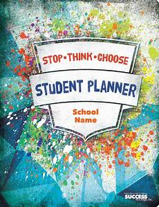 School Planner Cover Ideas Cc81 Splatter Imprint Cover Student Planner Student
