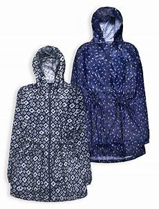 Light Summer Raincoat Ladies New Hooded Lightweight Parka Jacket Womens Rain Mac