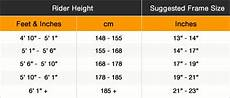 Bike Size Chart By Height Weight Loss How To Decide What Should Be The Correct