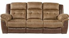 755 00 montiglio brown reclining sofa contemporary