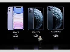 iPhone 11, iPhone 11 Pro Max, iPhone 11 Pro now live for