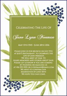 Funeral Invitation Sample 39 Best Funeral Reception Invitations Love Lives On