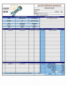 Auto Repair Template Auto Repair Invoice Template Word Invoice Example