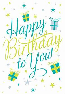 Card Image Happy Birthday To You Birthday Card Greetings Island