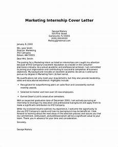 Cover Letter Internship Templates Free 8 Sample Cover Letter For Internship In Pdf Ms Word