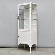 steel glass medicine cabinet 1940s for sale at pamono