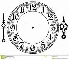Malvorlage Uhr Ohne Zeiger Vintage Clock Clipart Clipart Kid Clock Printable