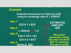 How to Convert Pounds to Euros: 8 Steps (with Pictures