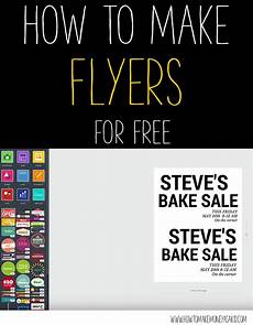 Create Free Printable Flyer How To Make A Flyer For Free Howtomakemoneyasakid Com