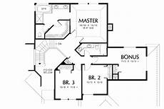 Floor Plan Stairs Contemporary Plan With Curved Staircase 69318am