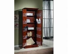armadio arte povera mobile armadio legno scarpiera 2 ante arte povera colore