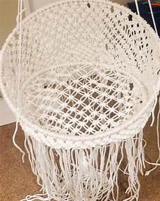 macrame chair diy hanging macram 233 chair