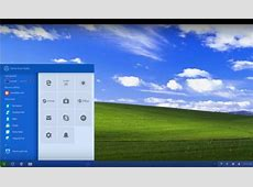 Concept imagines a modern Windows XP with improved interface