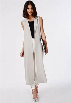 dr coats for adults sleeveless jenner looks chic in sleeveless trench
