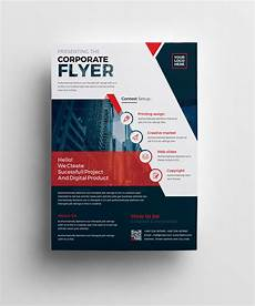Business Flier Plutus Professional Corporate Flyer Template 001008