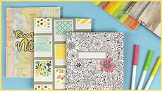 Cover Page For Notebook 5 Easy Diy Ideas To Decorate Your Notebook Covers Youtube