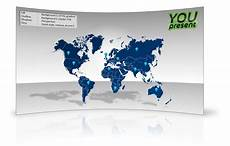 World Map Template Powerpoint World Map Template For Powerpoint Youpresent