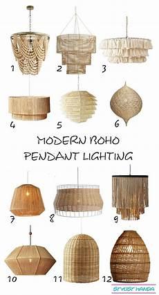Modern Boho Pendant Lighting Modern Boho Pendants I Love A Shoppable List Of My