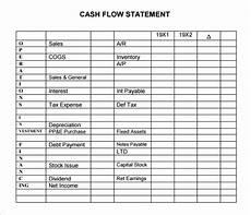 Simple Cash Flow Statement Free 13 Sample Cash Flow Statement Templates In Pdf Ms Word