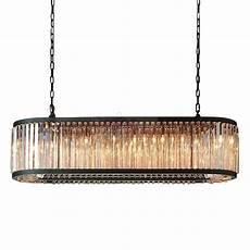 Welles Lighting Rh Welles Crystal Rectangulare Chandelier Design By