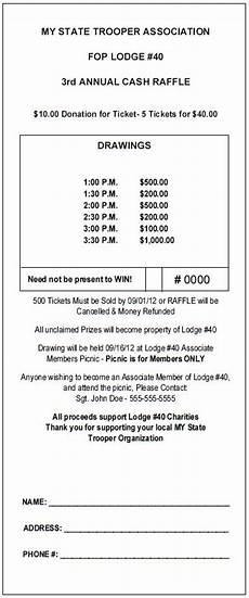 Raffle Ticket Price Vertical Jumbo Raffle Ticket