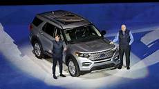 ford unveils the new 2020 explorer ford unveils reved explorer suv hoping to revitalize