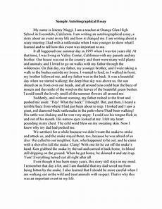 Narrative Essay About Yourself 400 500 Words Essay About Myself