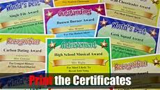 Funny Employee Award Certificates Funny Awards Silly Awards Humorous Award Certificates