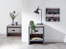 gfw boston 2 door tv unit in distressed oak by gfw