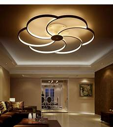 Thin Can Lights Modern Super Thin Circel Rings White Led Ceiling Light