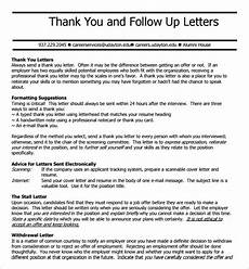 Follow Up Thank You Email Free 7 Follow Up Email After Interview In Pdf Ms Word
