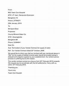 Vendor Termination Letter Vendor Termination Letter Sample Edit Fill Sign Online