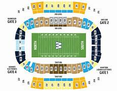 Tiger Stadium Seating Chart 3d Tickets Winnipeg Blue Bombers