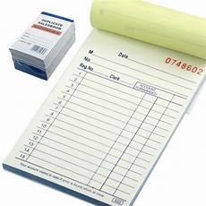 Receipt Copy 10 Pack Receipt Sales Book Order Invoice Carbonless Copy