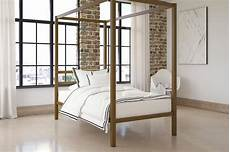 dhp modern canopy sturdy metal bed frame sizes