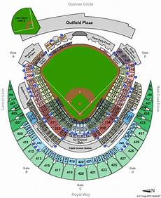 Kauffman Stadium Row Chart Kauffman Stadium Event Tickets