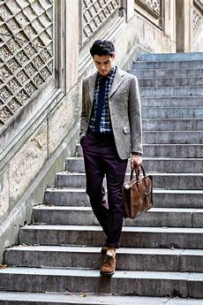 a studied look fall menswear s professorial style wsj