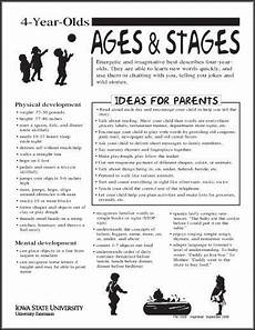 Whole Brain Child Ages And Stages Chart 4 Year Olds Ages And Stages Thumbnail 4 Year Old